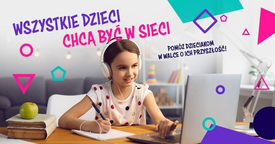 Wszystkie dzieci chca byc w sieci